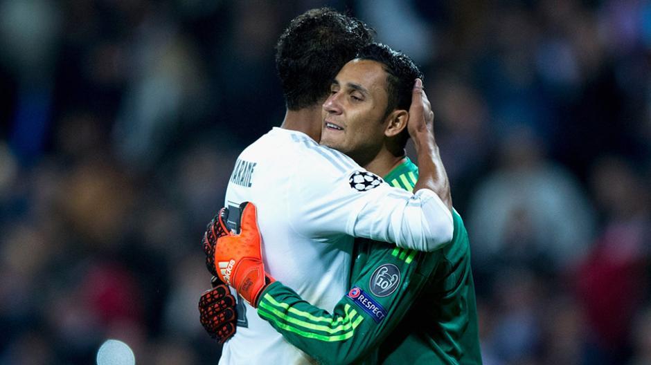 La relación entre Varane y Keylor es de cordialidad y respeto. (Foto: varzesh11.com)