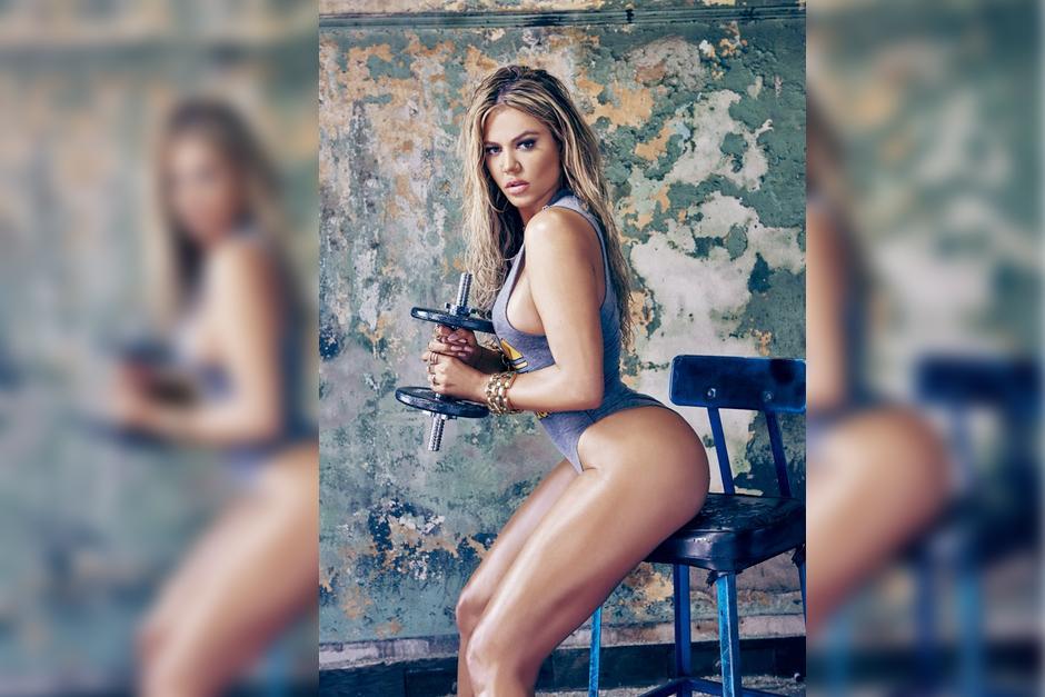 La hermana de Kim Kardashian demostró lo bien que trabajó su figura el gimnasio.