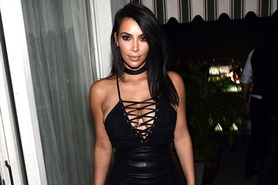 Kim llamó la atención de los medios debido a su gran escote. (Foto: Shutterstock)