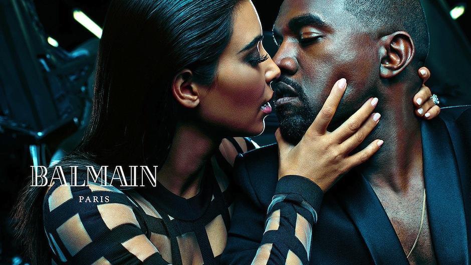 West es uno de los hombres más envidiados del planeta por estar con una de las mujeres más deseadas. (Foto: Balmain)
