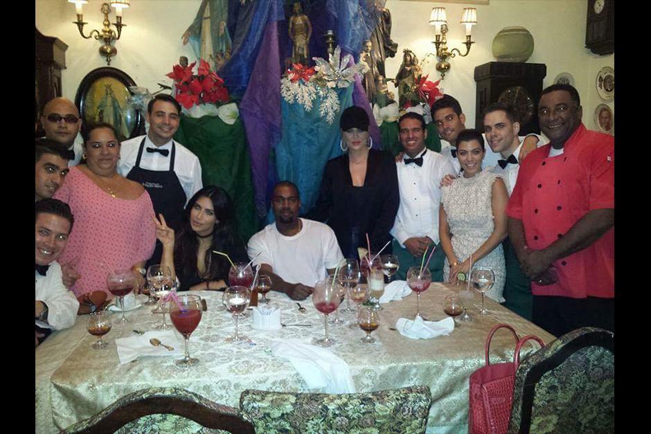 La famosa familia visitó el mismo restaurante que los Obama. (cibercuba.com)
