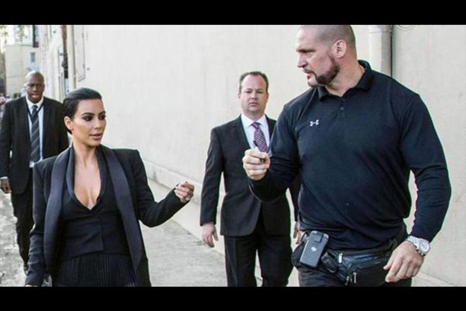 Así es Pascal Duvier, el guardaespaldas de Kim Kardashian. (Foto: Archivo)