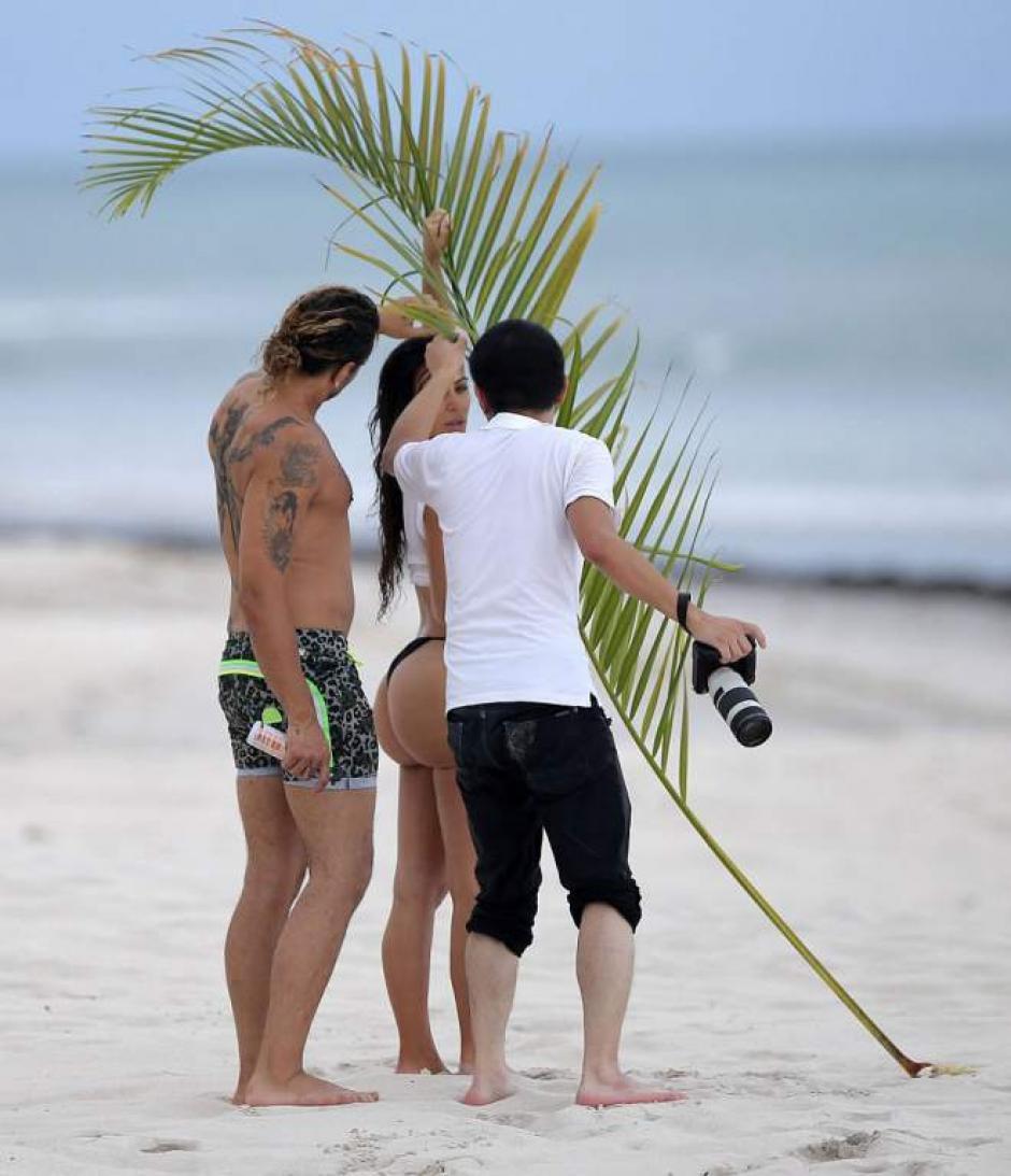 Durante su estadía en México le toman una sesión de fotografías. (Foto: La Prensa)