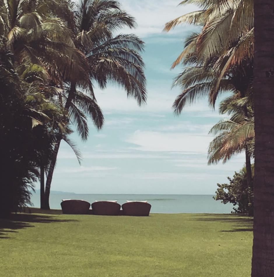 Kim estuvo de vacaciones en México. (Foto: kimkardashian/Instagram)