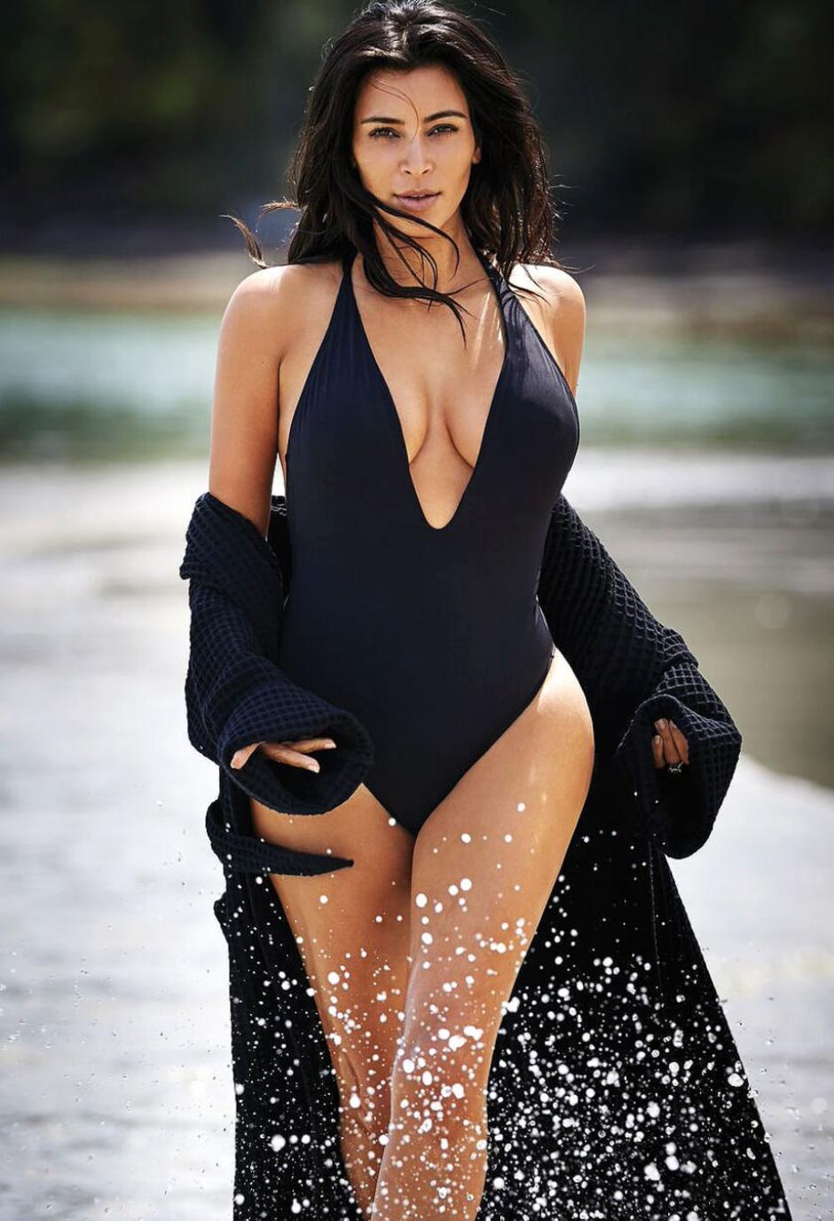 La celebridad sorprende por sus curvas. (Foto: usmagazine)