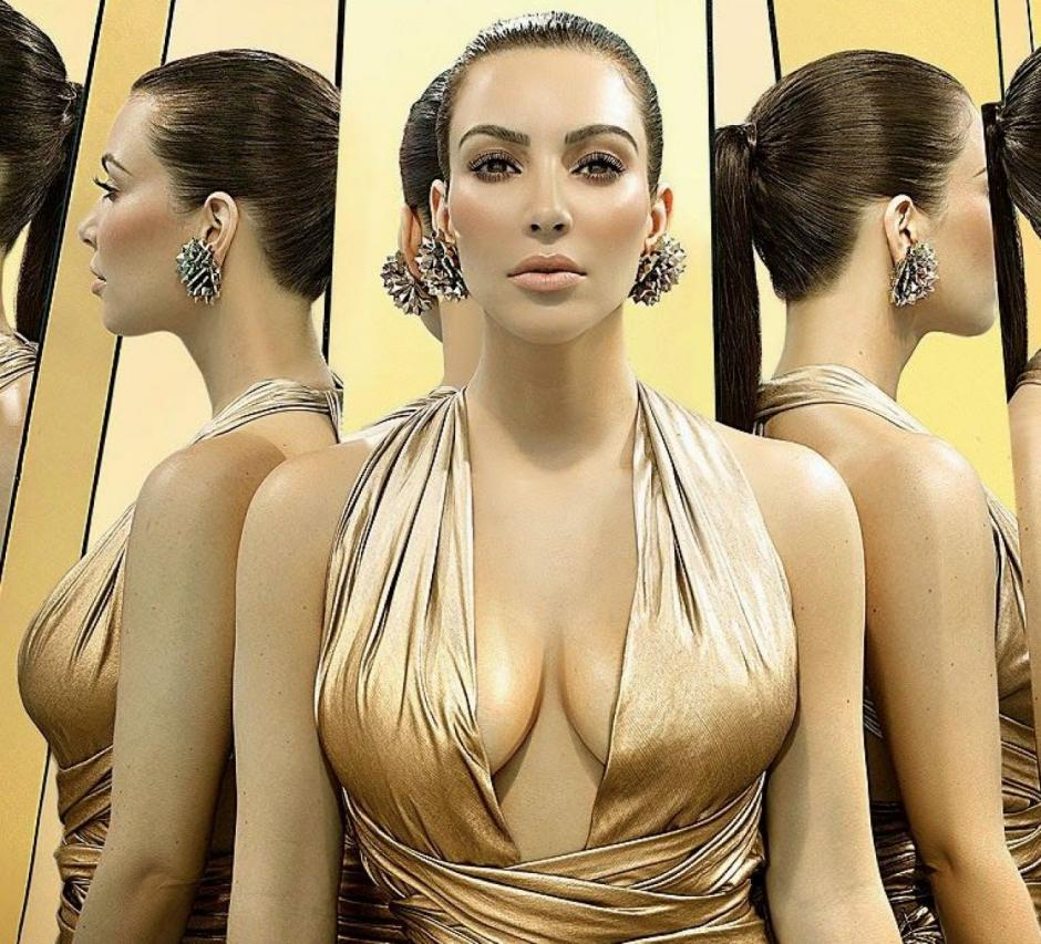 Kim Kardashian siempre sorprende por su figura. (Foto: vanitatis)