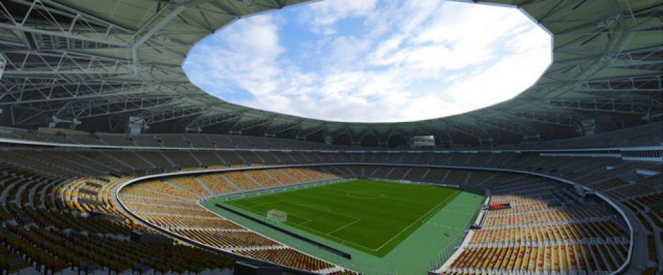 King Abdullah Sports City (Liga Profesional de Arabia Saudita). (Imagen:Electronic Arts)