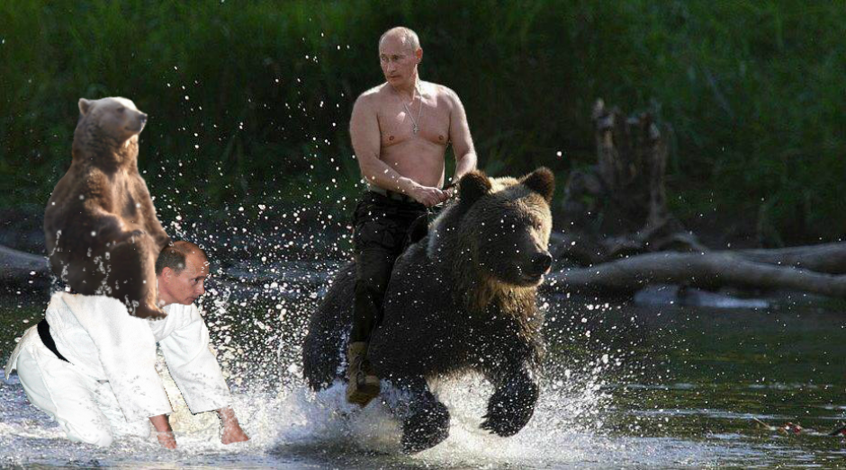 Un usuario hizo un montaje fotográfico con el presidente ruso Vladimir Putin. (Foto: reddit.com)