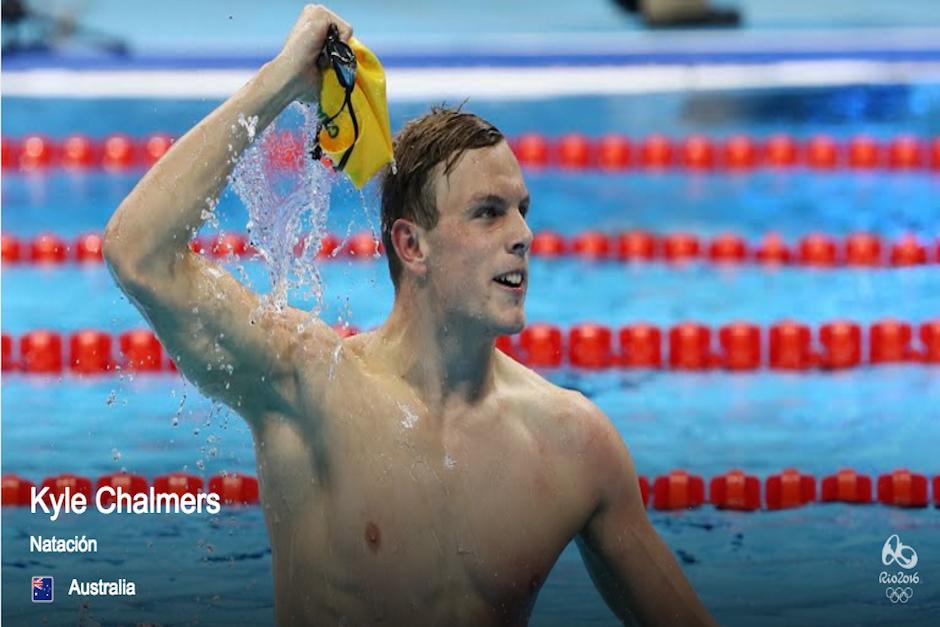 Chalmers se hizo acreedor a la medalla de oro en los 100 metros libres de natación. (Foto: Google)
