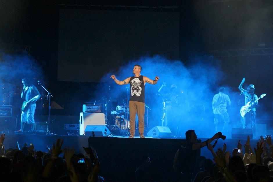 """El """"Canche"""" Zarco y Tijuana Love abrieron el show en el Gallo Evolution 2014. (Foto: Luis Barrios/Soy502)"""