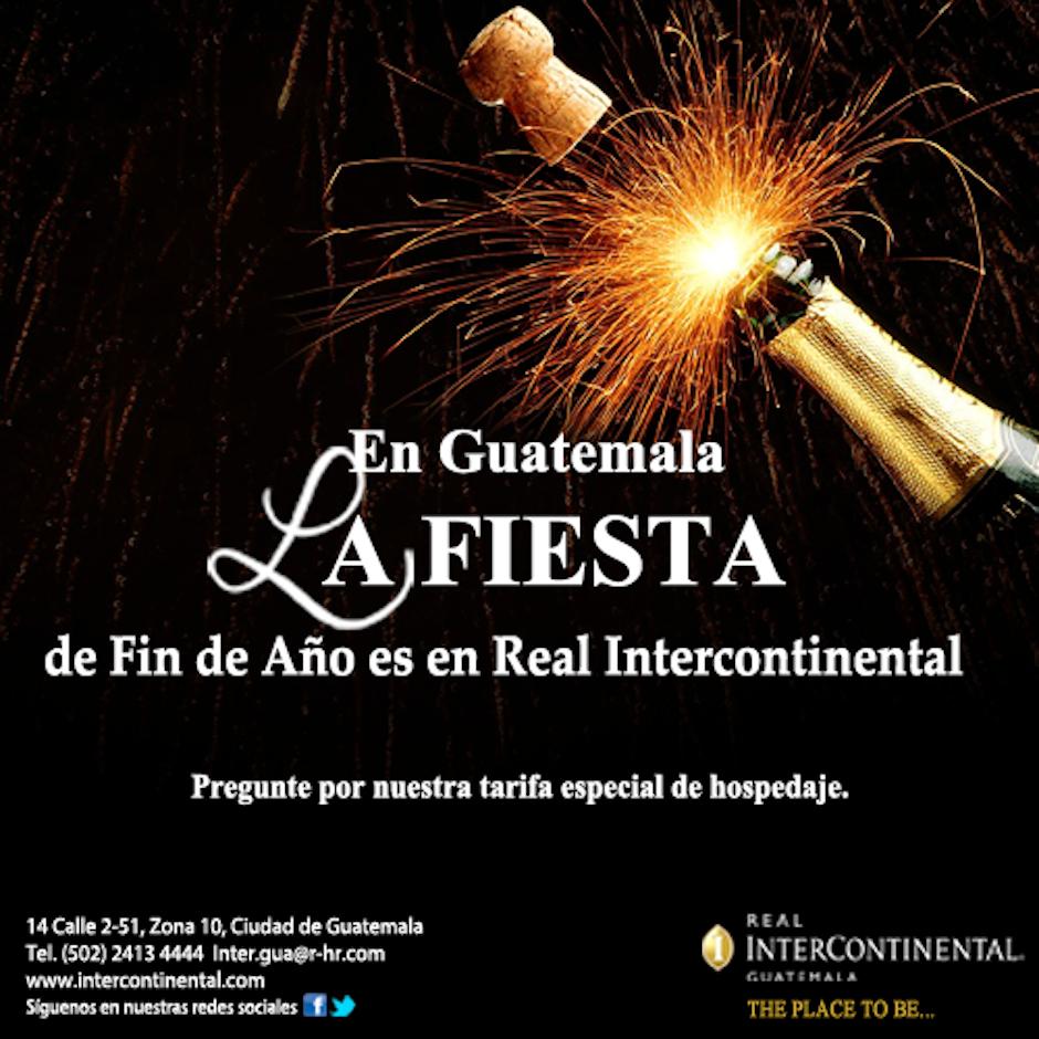 ¿Quieres bailar, comer bien y brindar con familia y amigos este fin de año? El hotel Real Intercontinental te ofrece una gran fiesta. (Foto: Facebook/Intercontinental)