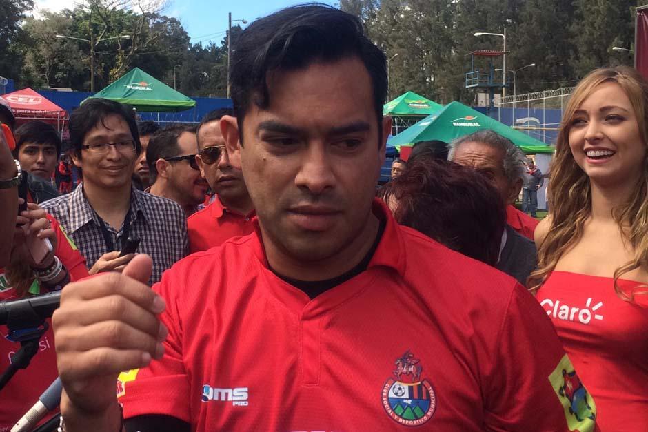 Ruiz estará año y medio con Municipal, luego será su retiro del fútbol. (Foto: Luis Barrios/Soy502)