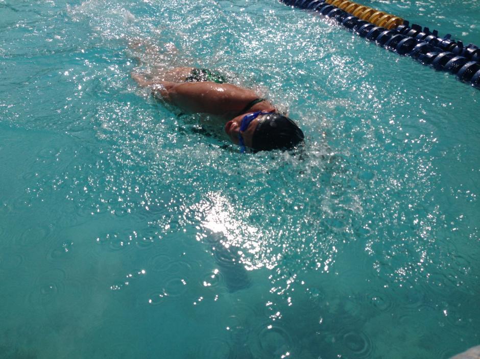 La difícil prueba se hizo fácil para estos atletas que son miembros de las Federaciones de Polo Acuático y de Natación. (Foto: María José Meza/Soy502)