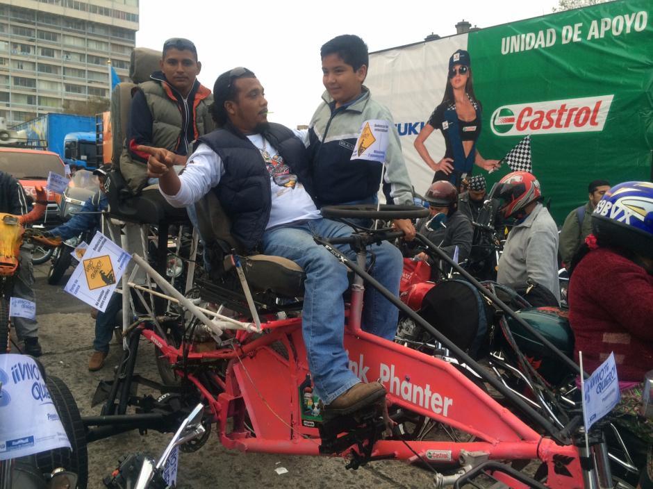 La Caravana del Zorro es una tradición para los motoristas guatemaltecos.(Foto: Luis Barrios/Soy502)