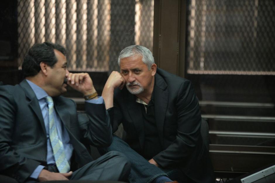 El abogado de Otto Pérez presentó un recurso de inconstitucionalidad. (Foto: Wilder López/Soy502)
