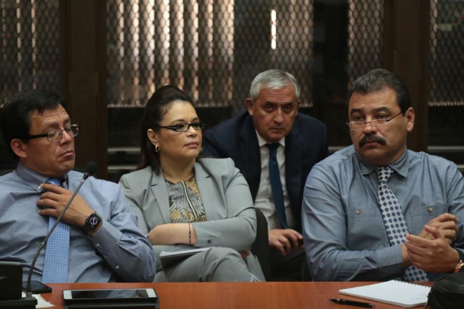 El abogado de Otto Pérez presentó una queja contra Gálvez, la cual fue aceptada. (Foto: Alejandro Balan/Soy502)