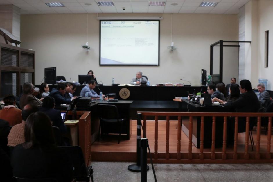 Pérez Molina había solicitado una audiencia para cambio de delito, la cual nunca se realizó. (Foto: Alejandro Balan/Soy502)