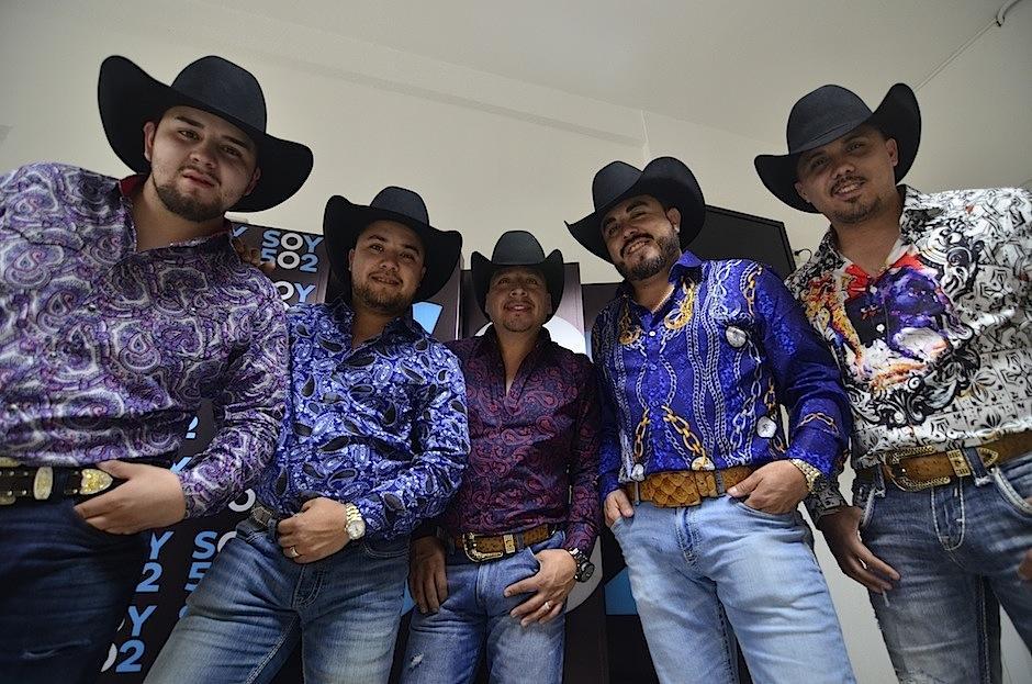 La banda de música regional mexicana Maquinaria Norteña, visitó Guatemala. (Foto: Selene Mejía/Soy502)