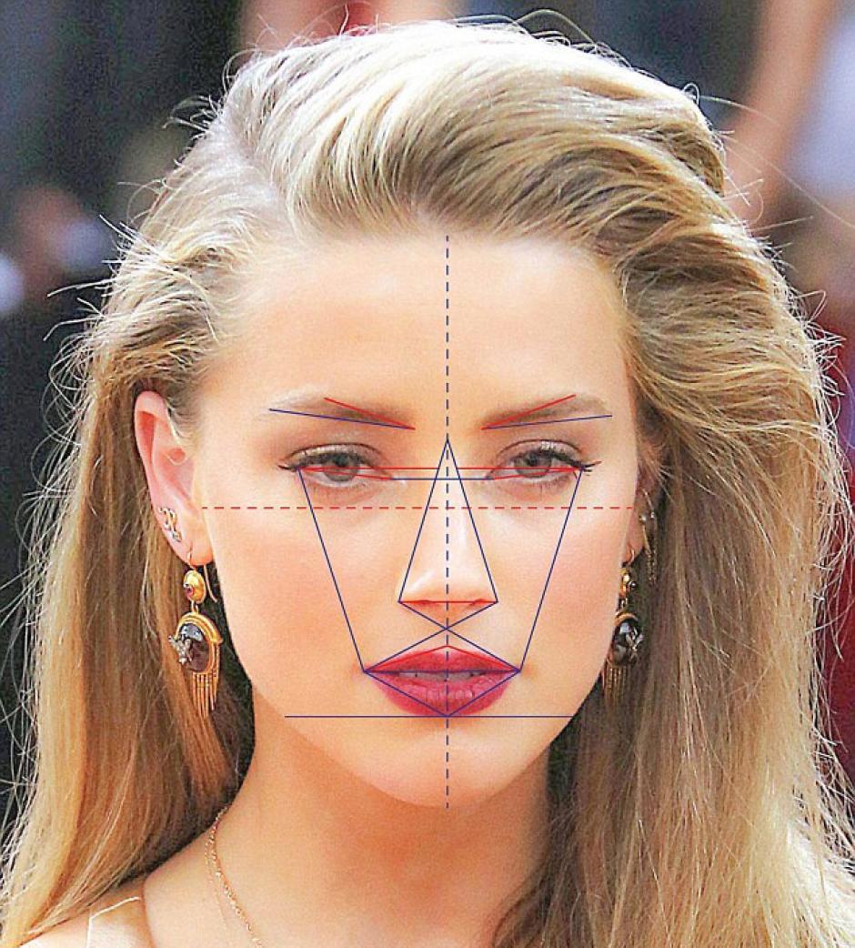 Amber Heard obtuvo 91.85% de proporción áurea de la belleza. (Foto: rt.com)