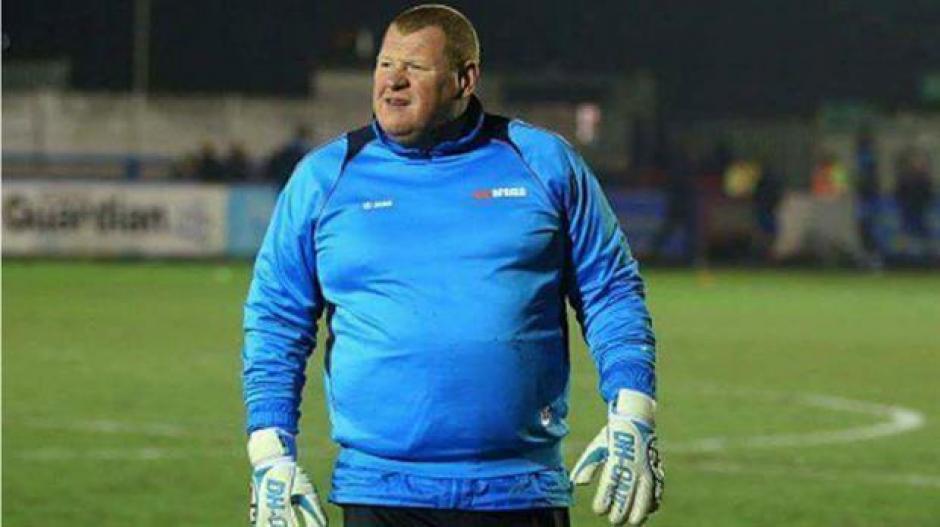 Wayne Shaw milita en el modesto Sutton United de la quinta división. (Foto: La Nación)