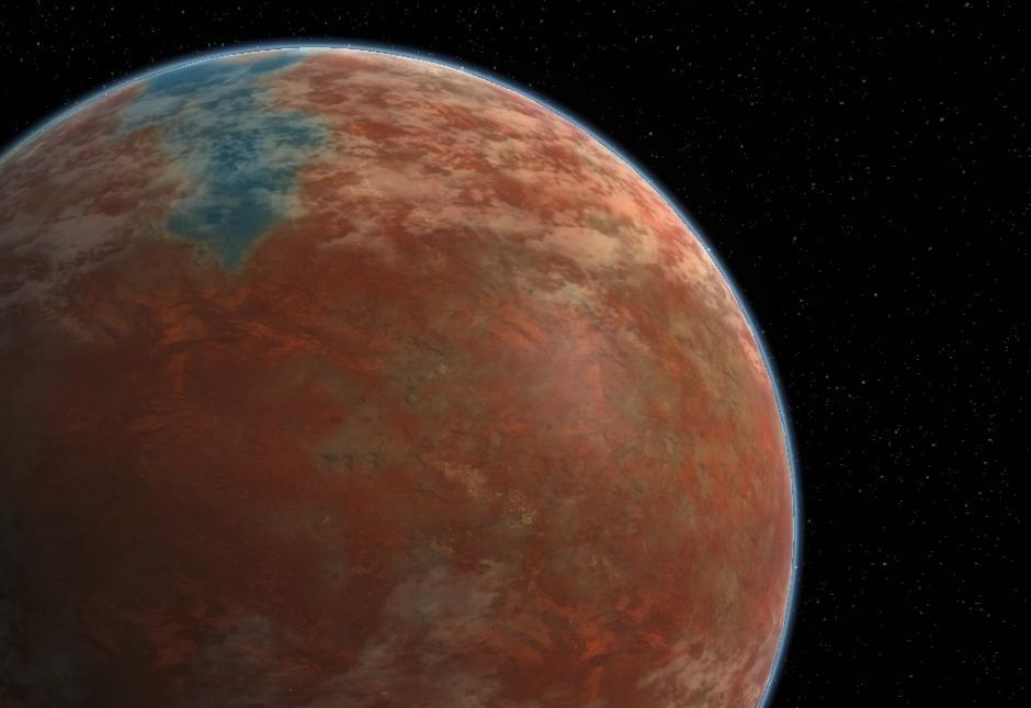 La estrella está a 16.5 años luz de la Tierra y aunque el astro de Star Trek no exista como tal, esta tiene unas características similares. (Foto: elespectador.com)