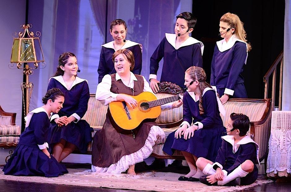 """""""La novicia rebelde"""" es el musical realizado por Spiga Producciones. (Foto: Selene Mejía/Soy502)"""