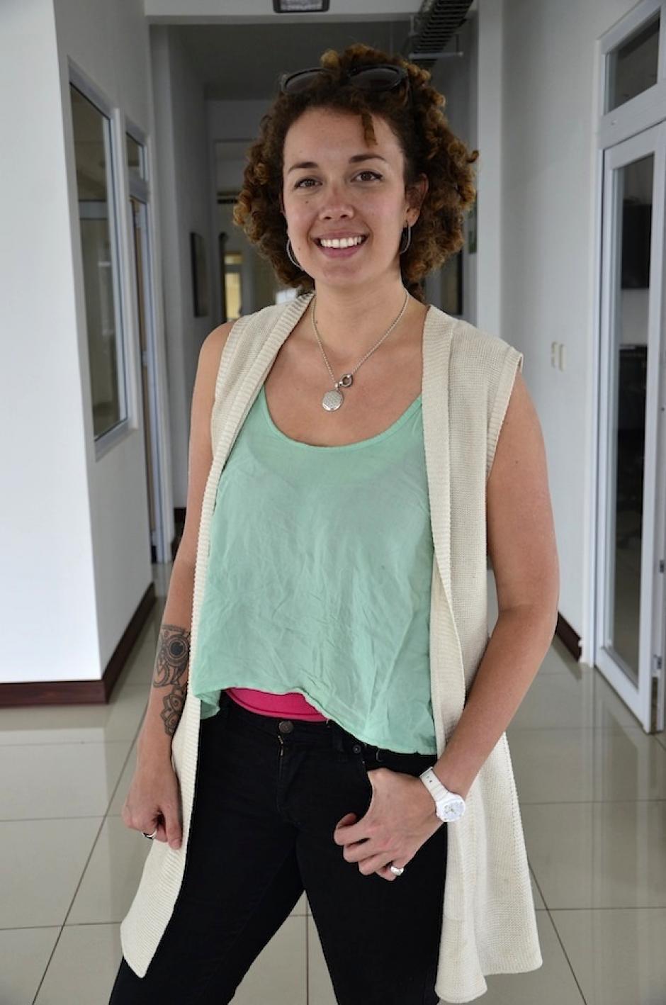 Ana Cosenza se unió a esta aventura con su talento visual. (Foto: Selene Mejía/Soy502)
