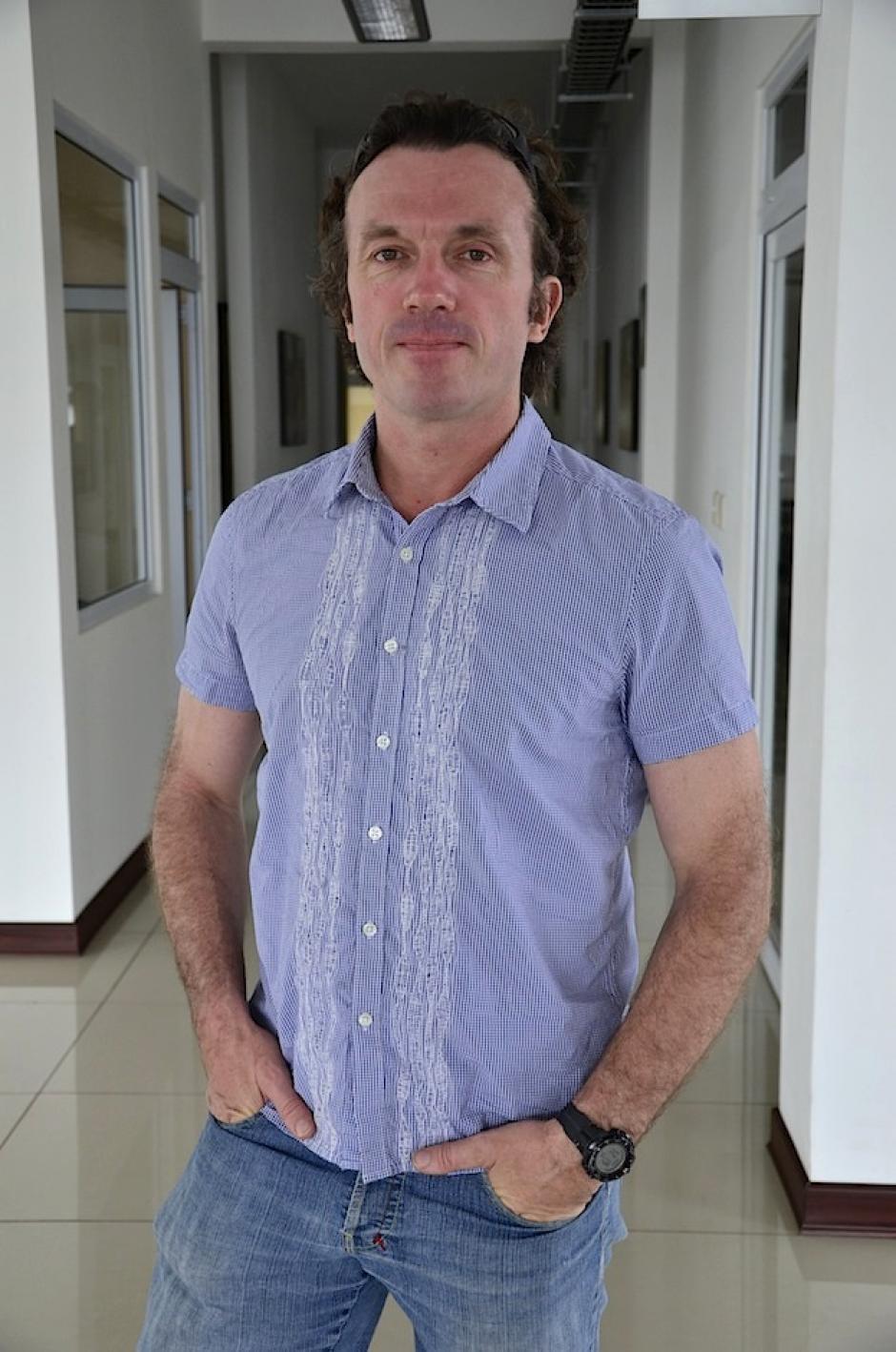 Thomas Tomczyk es el protagonista de la historia. (Foto: Selene Mejía/Soy502)