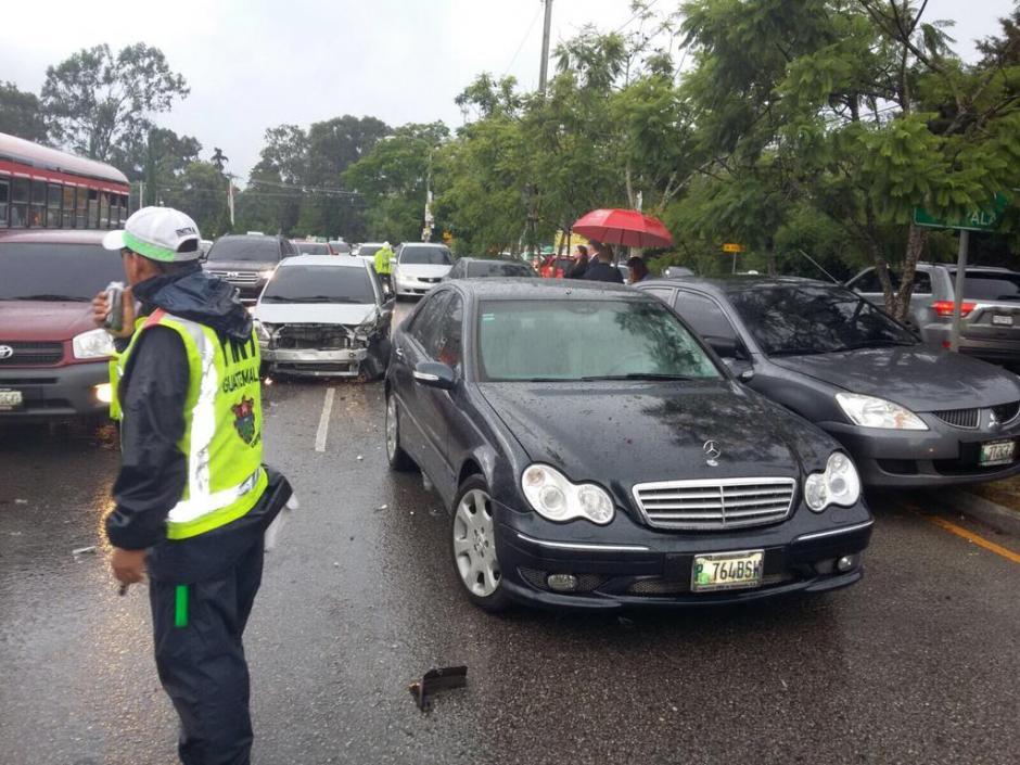 El conductor en estado de ebriedad huyó de la PNC cuando se le hizo el alto. (Foto: PMT)