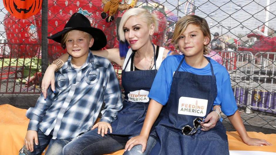 Gwen Stefani tiene hijos y demostró su instinto maternal ante la situación. (Foto: La Prensa Honduras)