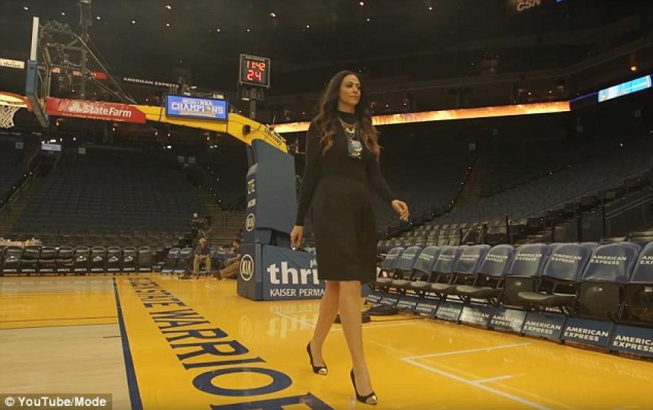 Alicia está vinculada a los Warriors de Golden State. (Foto: Daily Mail)