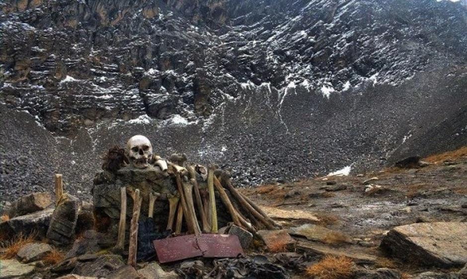 Este es un extraño lago glacial en el Himalaya. (Foto: elalter.com)