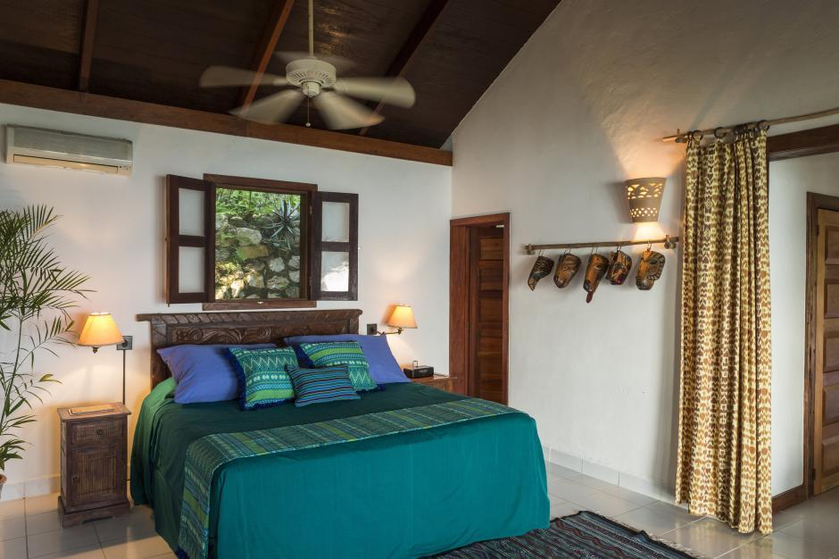 Las habitaciones cuentan con un toque muy guatemalteco. (La Lancha)