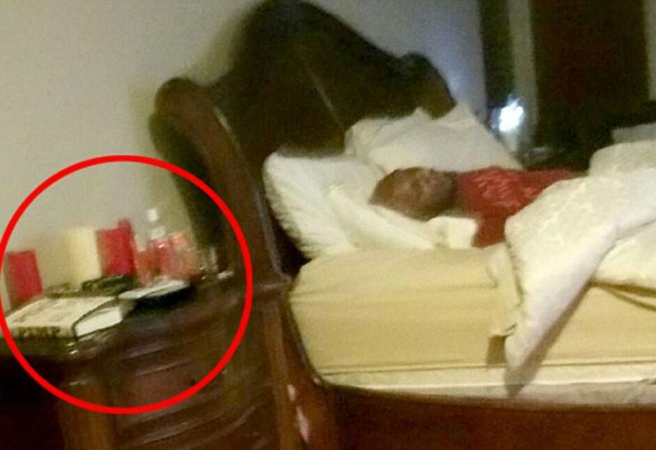 Lamar Odom en una habitacion del burdel de Nevada. (Foto: DailyMail)