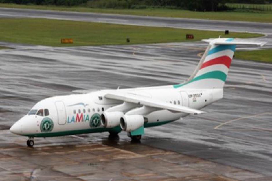El vuelo transportaba al equipo Chapecoense de fútbol. (Foto: radiofides.com)