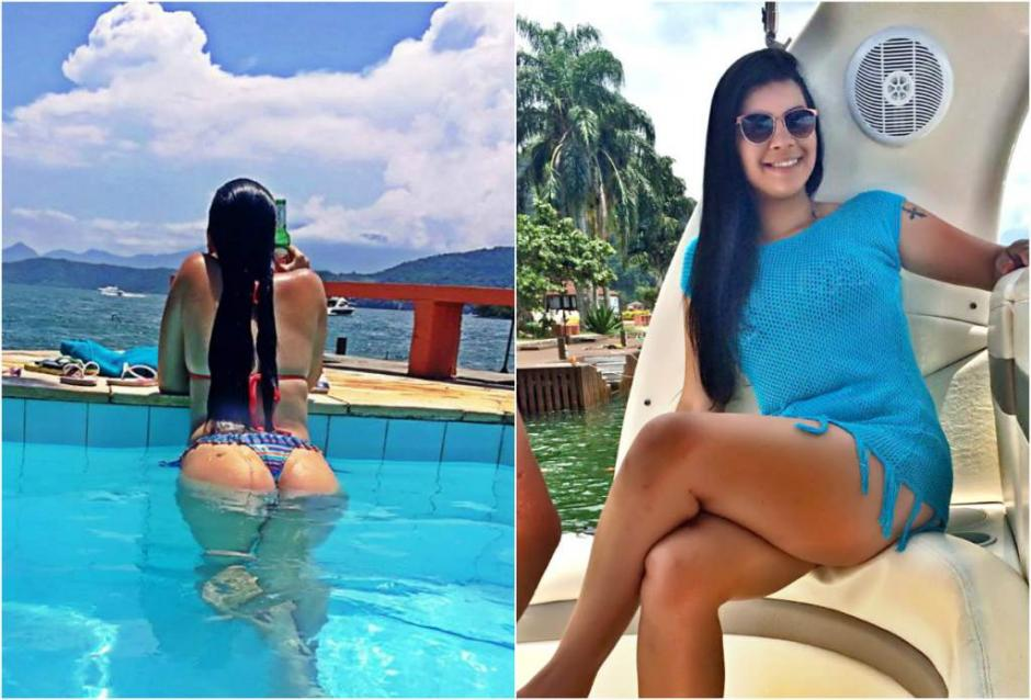 Jady Duarte resultó ser la exesposa de un narcotraficante ya fallecido. (Foto: laprensa.hn)