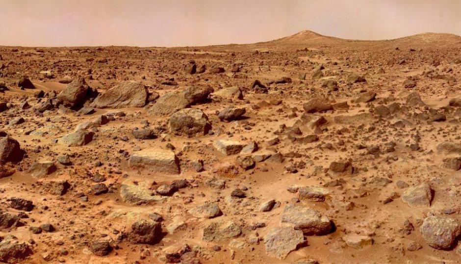 Con el video de 360 grados publicado por la NASA podrás ver las colinas de Marte. (Foto: laprensa.peru.com)