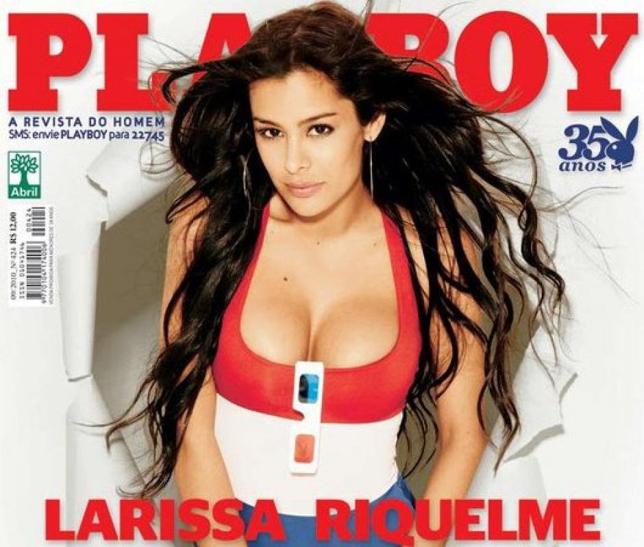 La paraguaya llegó a salir en la portada de Playboy. (Foto: clarin.com)