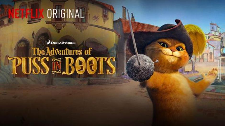 Las aventuras del gato con botas, serie original de Netflix. (Foto: Oficial)