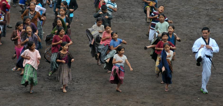 Las niñas de Tipulcan foto Soy502 01