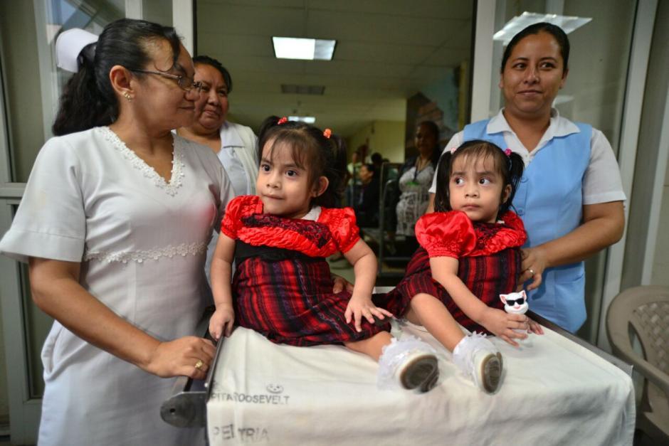 Las Rositas pasaron tres años y seis meses en el hospital. (Foto: Wilder López/Soy502)