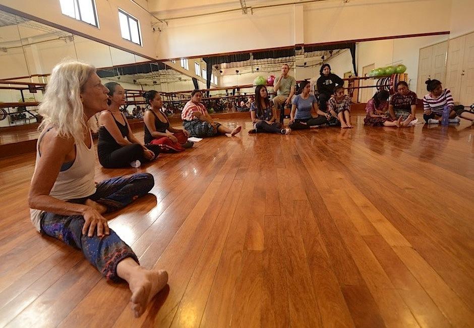 Los actores son parte de colectivos como Caja Lúdica, Ix Saqil Ik y mujeres de Huehuetenango y Sololá. (Foto: Selene Mejía/Soy502)