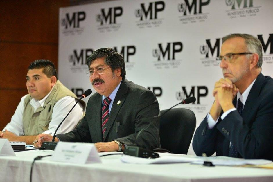 La CICIG y el MP anunciaron sobre la desarticulación de la red de lavado. (Foto: Wilder López/Soy502)