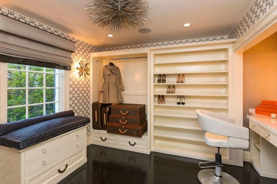 Este es el closet de la actriz. (Foto: yahoo.com)