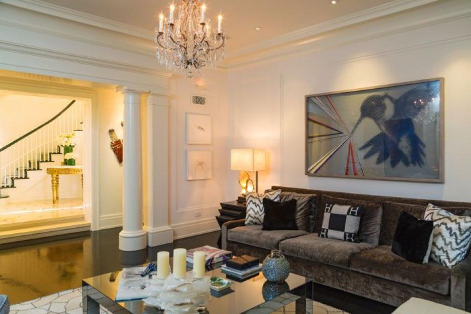 La casa fue decorada estilo Shabby Chic. (Foto: yahoo.com)