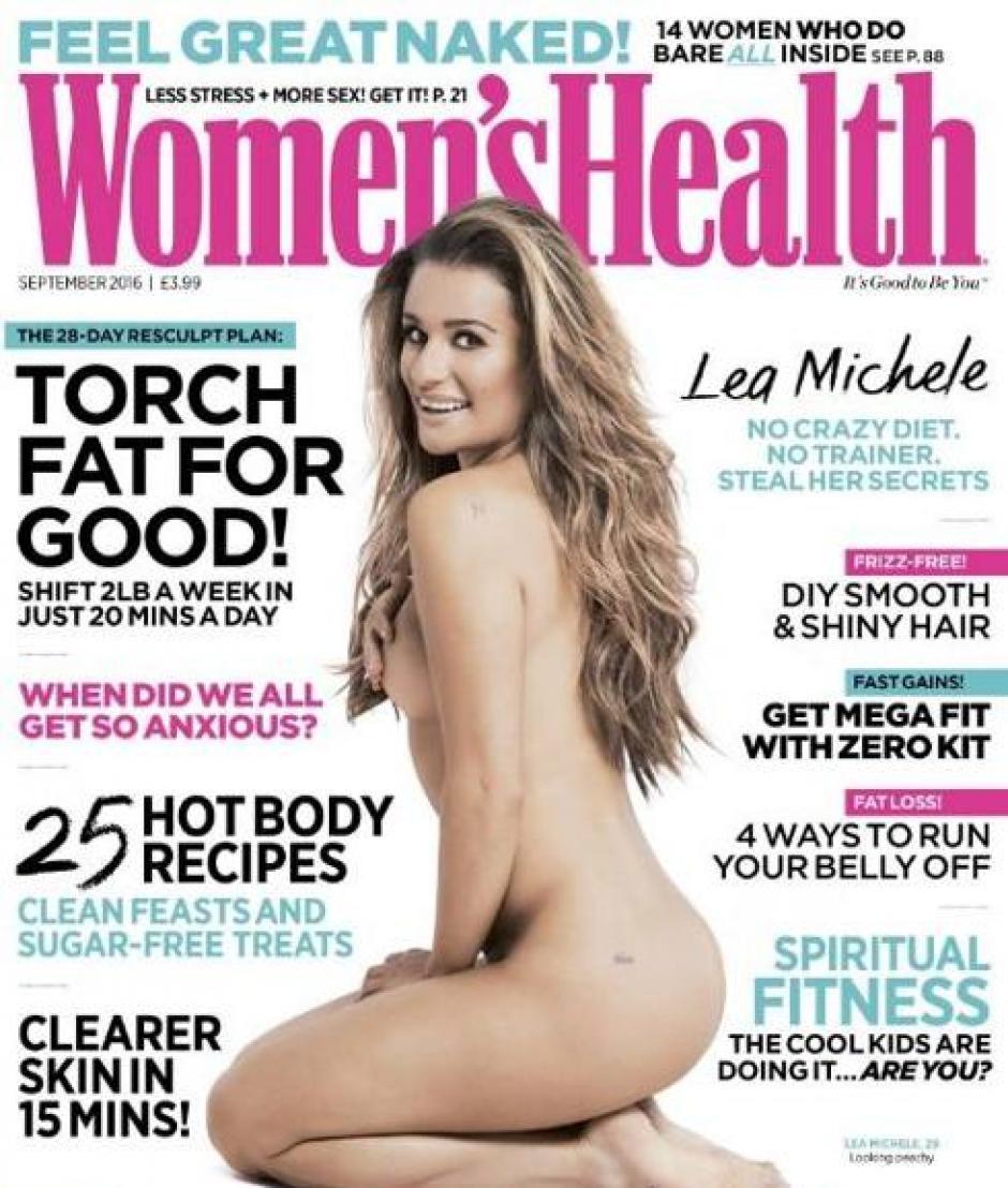 Lea Michele adelantó parte de su aparición en la edición de septiembre de la revista. (Foto: Instagram Lea Michele)