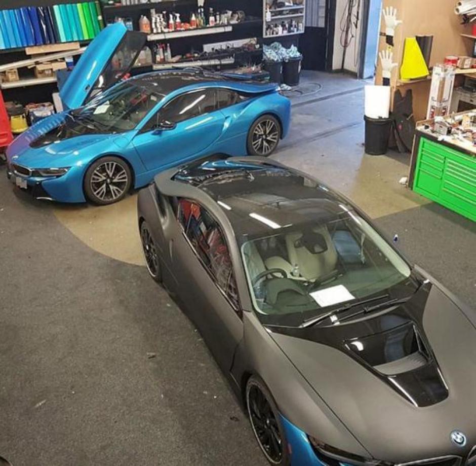 Los carros estuvieron algunos días en el taller para ser modificados (Foto: Infobae)