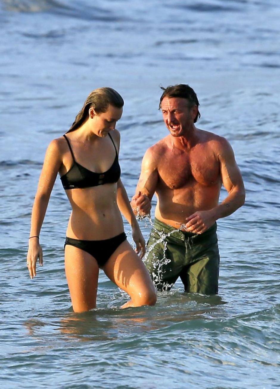 Sean y Leila fueron captados en la isla de Oahu, en Hawái. (Foto: elsalvador.com)