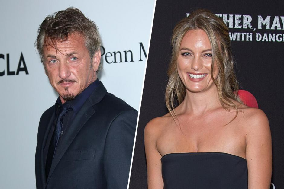 Sean Penn tiene un romance con la joven Leila George. (Imagen: web.de)