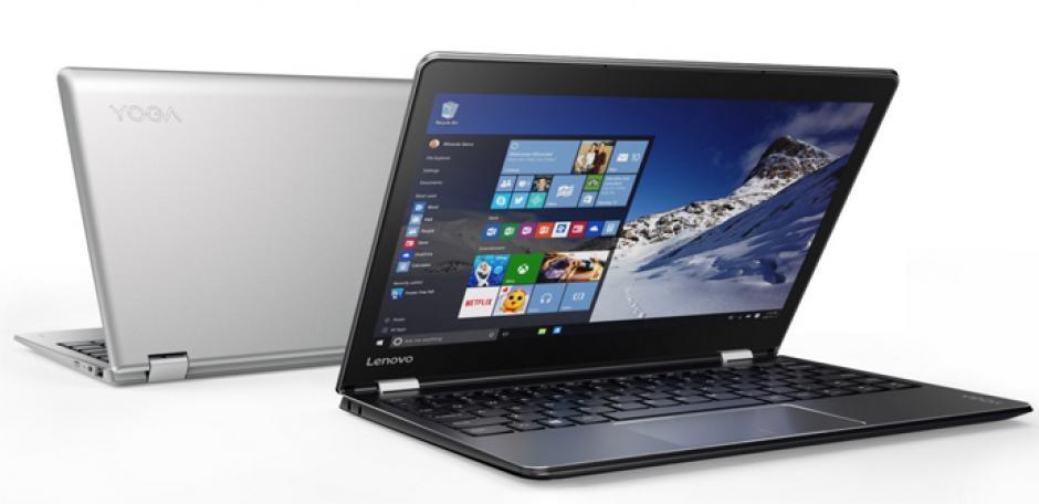 El modelo Lenovo Yoga 510 ofrece un diseño totalmente renovado con respecto a la generación anterior, entregando un 50% más de autonomía de batería. (Imagen: hardzone.es)